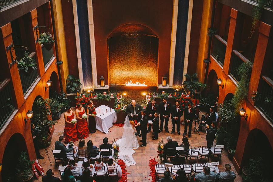 Wedding Venues Riverwalk San Antonio Tx : Hotel valencia riverwalk san antonio texas wedding kathy
