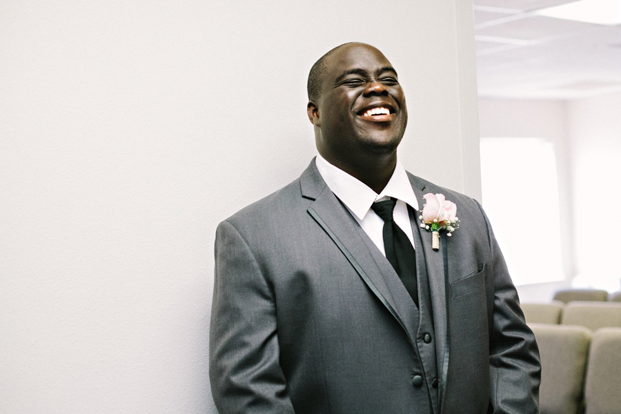 happy groom