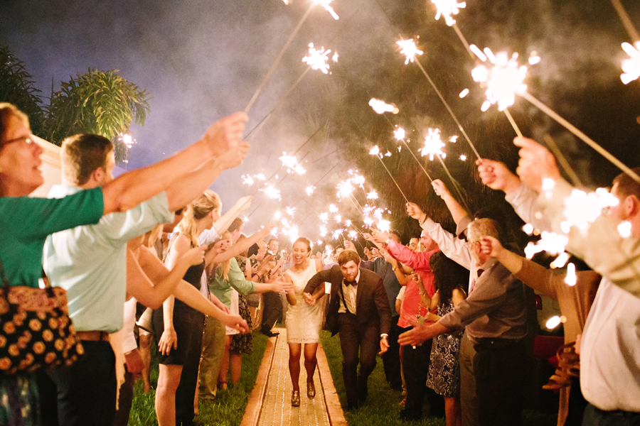 bride and groom sendoff ideas