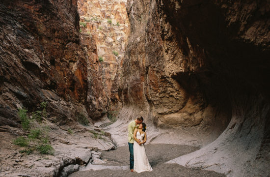 big bend engagement session