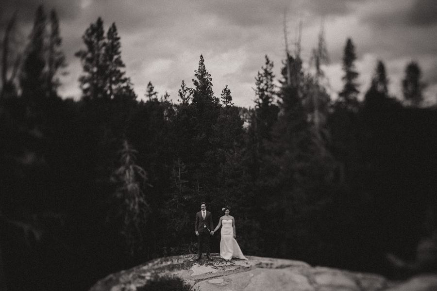 best black and white wedding portraits
