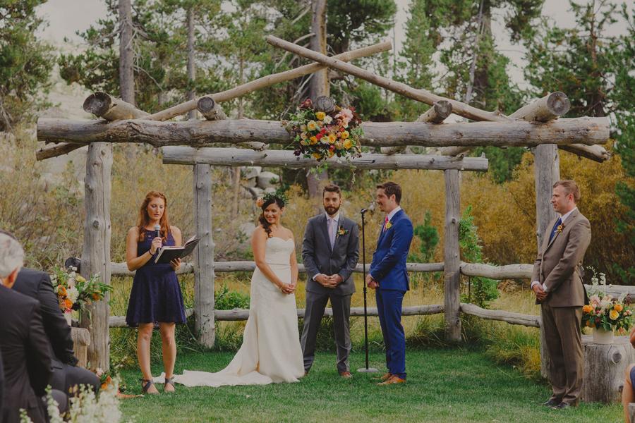 the hideout wedding ceremony