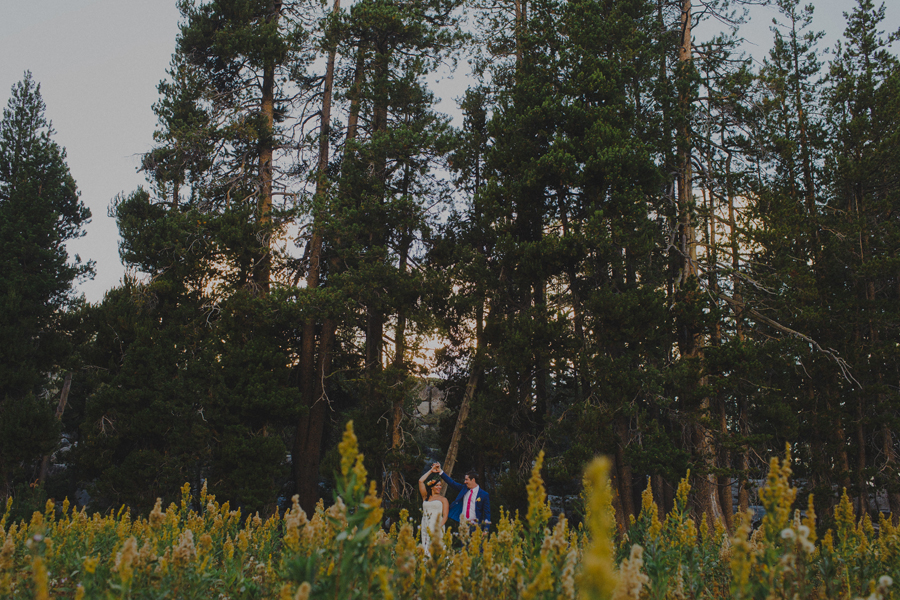 wedding meadow pictures