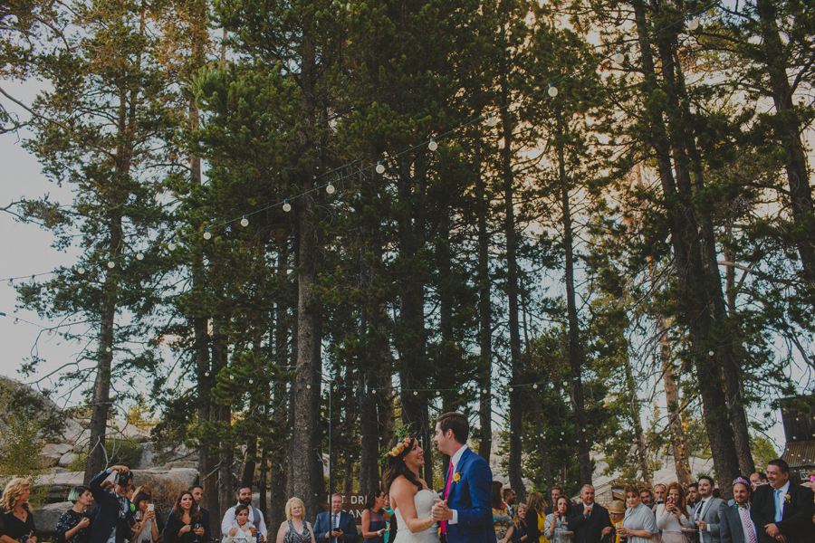 wedding in the woods first dance