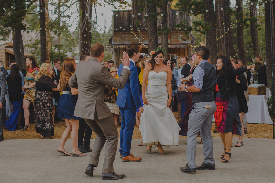 outdoor wedding dancing floor