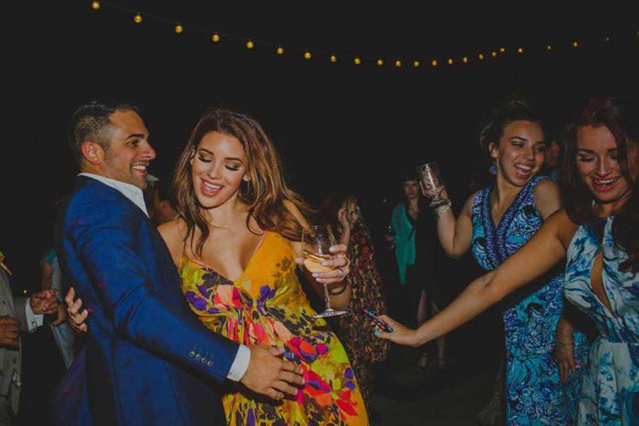 night dancing at weddings