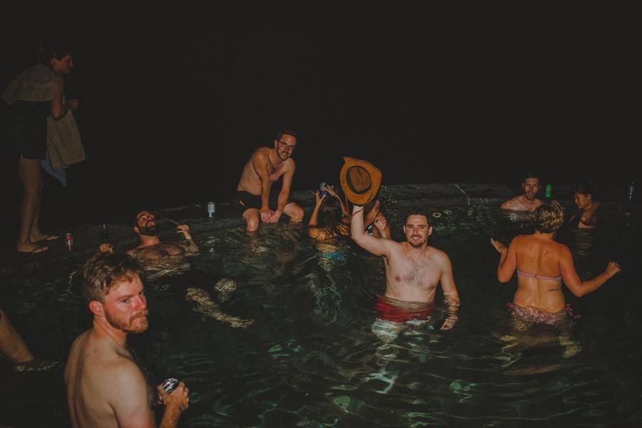 wedding swimming pool