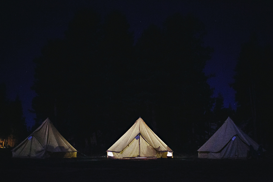 shelter and co glamping tents