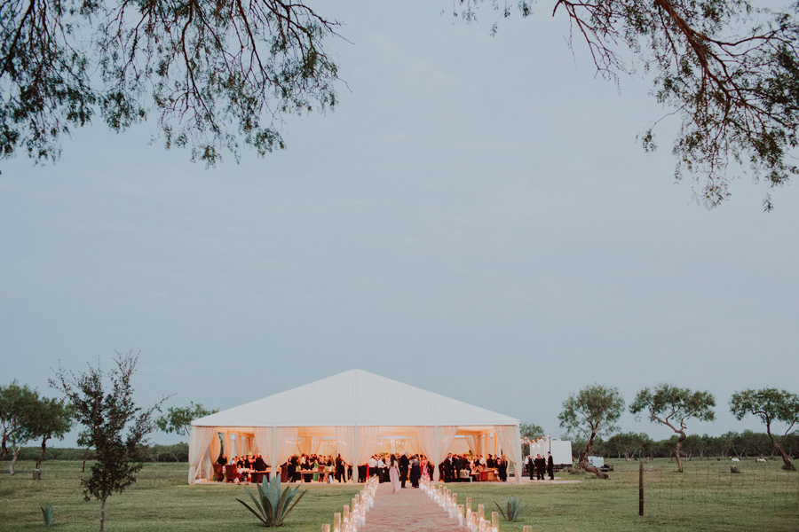 outdoor ranch wedding texas